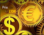 Prix de l'or septembre 2019